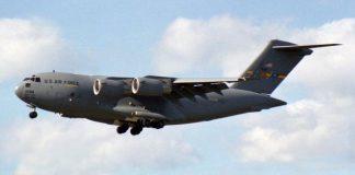 Avión de las Fuerzas Armadas de Estados Unidos