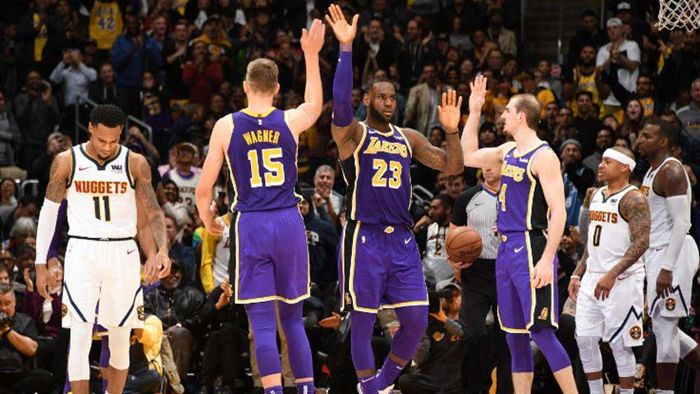 LeBron James, Los Ángeles Lakers