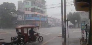 Lluvias en Perú