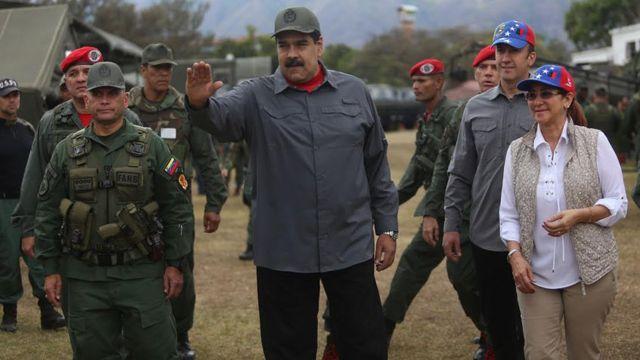 Maduro, ejercicios militares