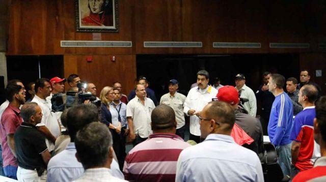 Maduro en El Guri