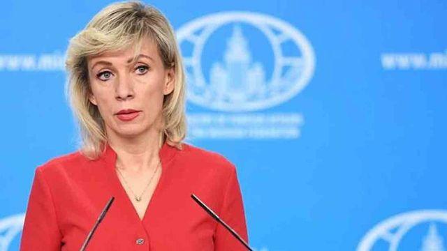 María Sajárova, portavoz del Ministerio de Asuntos Exteriores ruso.