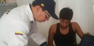 Venezolano detenido, Migración Colombia