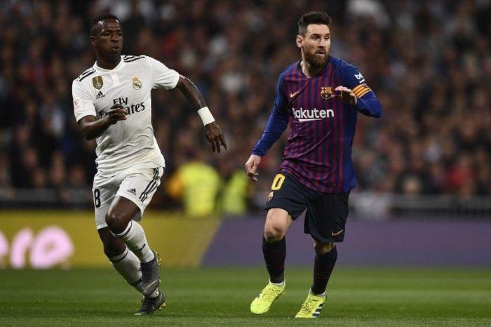 Vinicius Jr y Messi