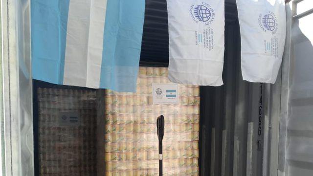 Ayuda humanitaria desde Argentina