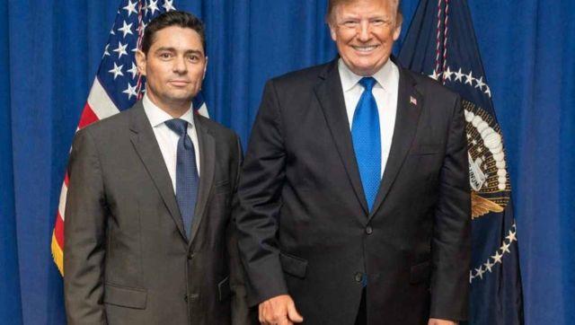 Carlos Vecchio y Donald Trump