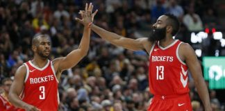 Chris Paul y James Harden, Houston Rockets