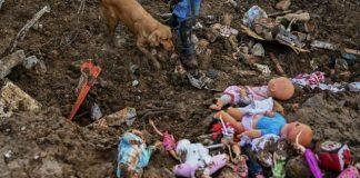 Deslave en Colombia