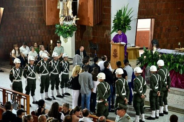 Funeral de Pastor López