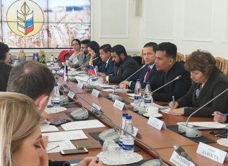 Venezuela y Rusia tratan acuerdos bilaterales en materia agrícola.