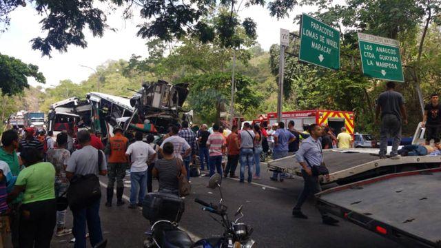 Accidente en ela Autopista Regional del Centro