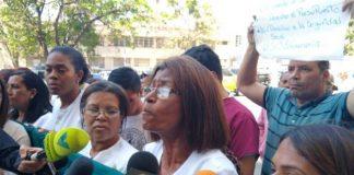 Ana Rosario Contreras, presidenta del Colegio de Enfermeras.