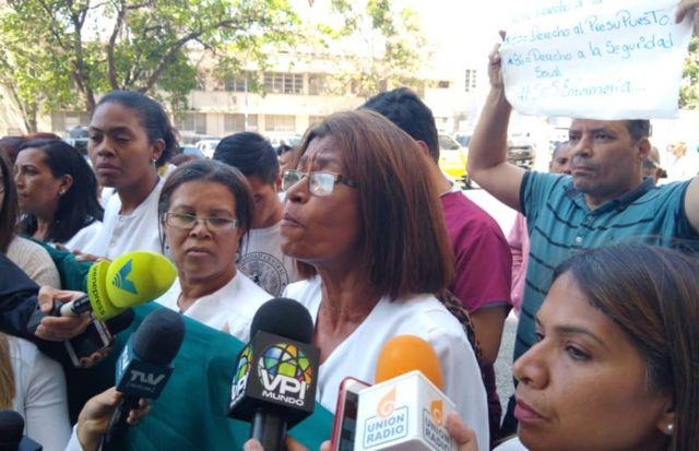 Ana Rosario Contreras, presidenta del Colegio de Enfermeras de Caracas, afirmó que 18 estados y 6 hospitales se unirán al paro nacional de este 30 de octubre.