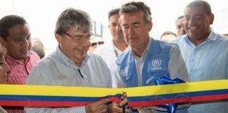 Canciller colombiano, Carlos Holmes Trujillo.