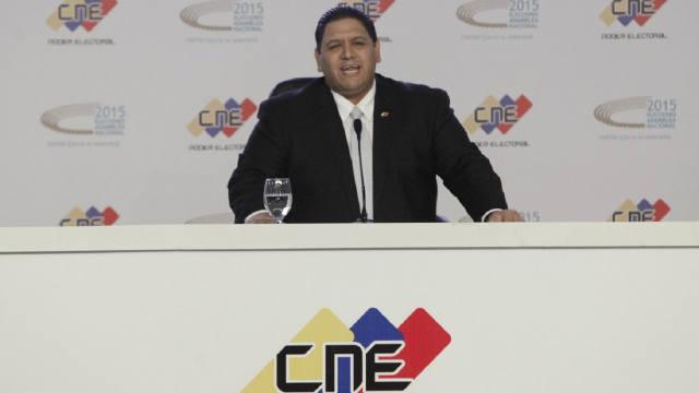 Luis Emilio Rondón, Rector del CNE
