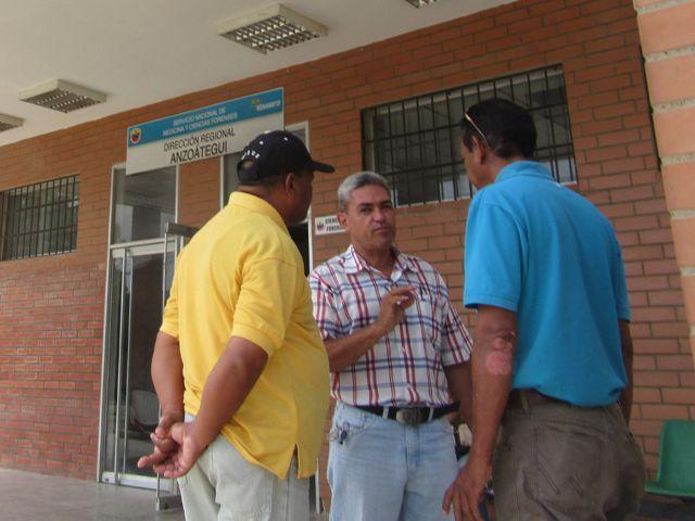 Familiares de Zapata reclamaron sus restos en la medicatura forense de Barcelona.