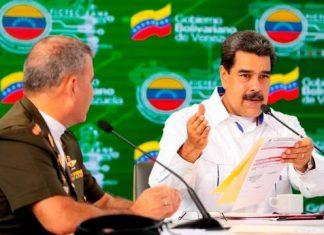 Padrino López y Maduro