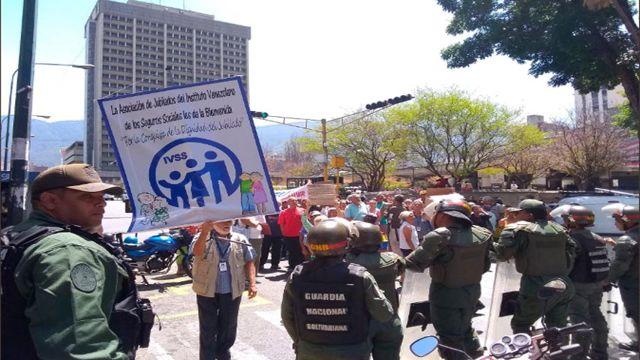 Protestas de Jubilados y Pensionados
