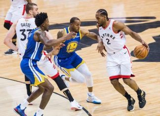 Raptors vs Warriors, Finales de la NBA