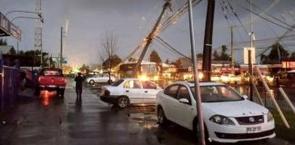 Tornado en Chile