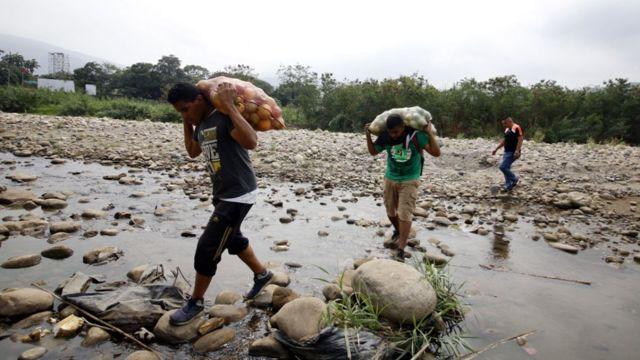 Trocha en frontera colombo-venezolana