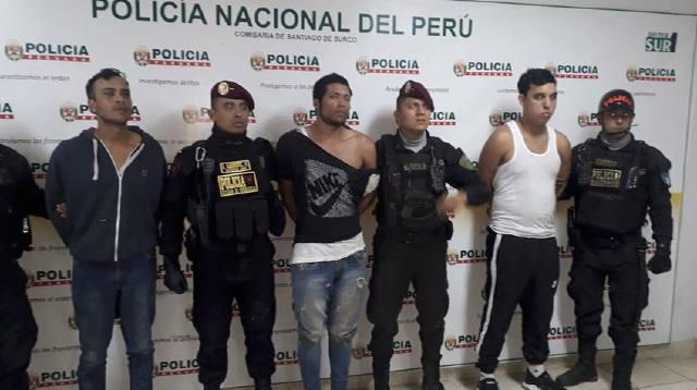 Venezolanos delincuentes en Perú