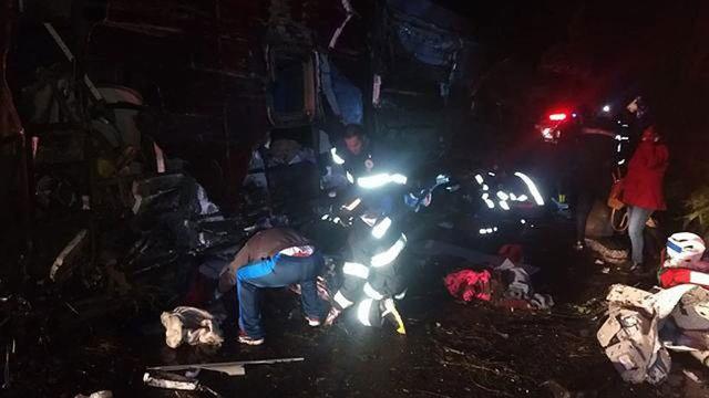 Accidente en Sao Paulo