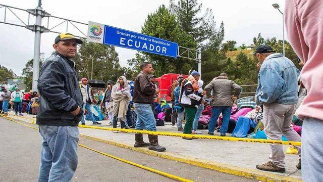 Ecuador, frontera.