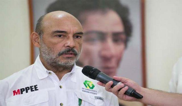 Freddy Brito Maestre, Ministro de Energía Eléctrica.