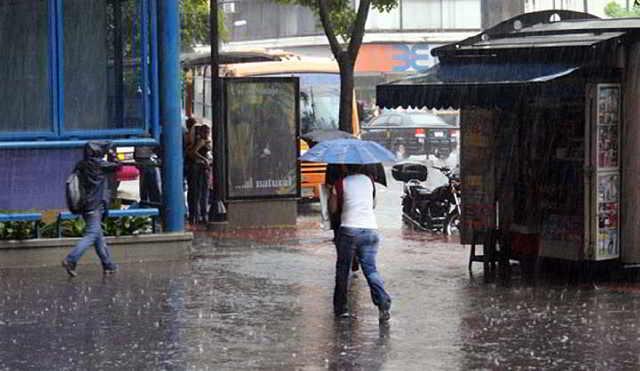 Se esperan lluvias dispersas en Guárico y otras regiones