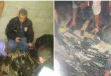Lote de armas robadas