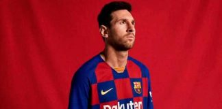 Lionel Messi, nueva camiseta del Barca