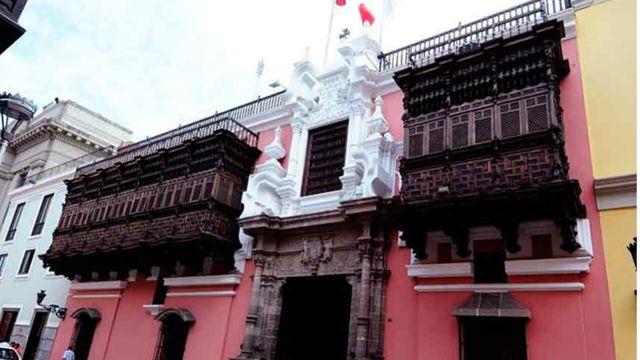 Cancillería de Perú