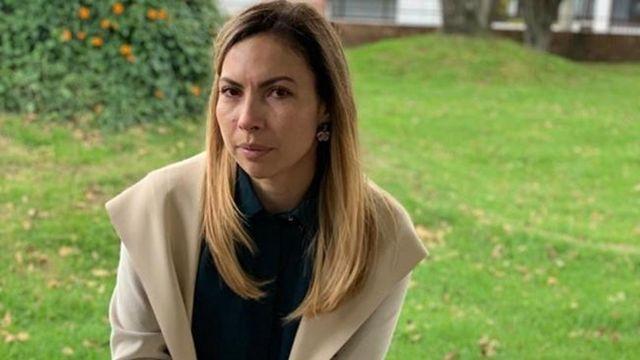 Rossana Barrera, enviada de Guaidó