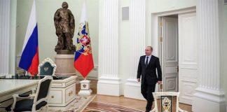 Putin, Presidente de Rusia
