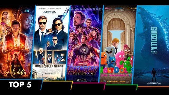 Top 5 de la cartelera de cine nacional