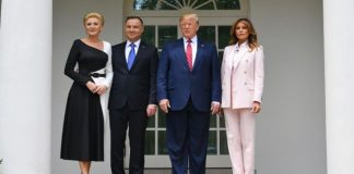 Donald Trump, Presidente de Estados Unidos, y Andrzej Duda, Presidente de Polonia