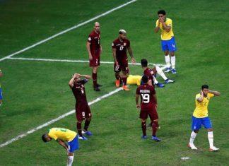 Venezuela vs Brasil