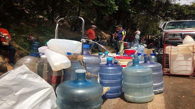 Falta de agua en Maracay