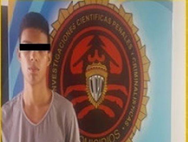Joven que asesinó a su padre en Puerto Ordaz.