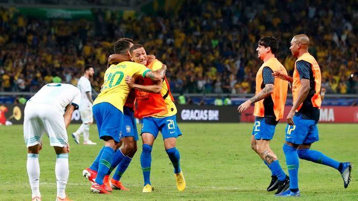 Brasil venció a Argentina en semifinales de la Copa América 2019