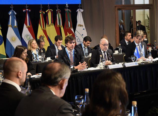 Jorge Faurie, Canciller de Argentina, en el Mercosur.