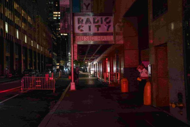 Apagón en Nueva York