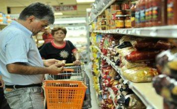 Canasta alimentaria, supermercado