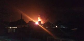 Incendio en Tony Gas