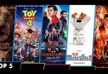 Top 5 estrenos de películas en Venezuela
