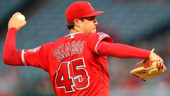 Tyler Skaggs, lanzador de los Angelinos de Los Ángeles