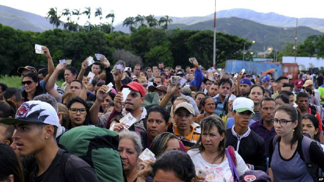 600 venezolanos regresaron al país desde Colombia este fin de semana
