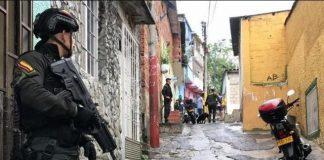 Operativo en Antioquia