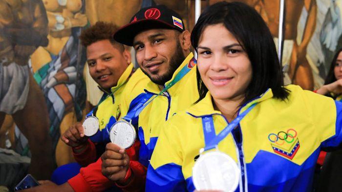 Atletas venezolanos que consiguieron medallas en los Juegos Panamericanos Lima 2019